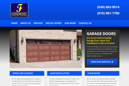 Foremost Garage Doors