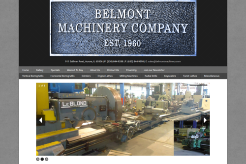 Belmont Machinery Company